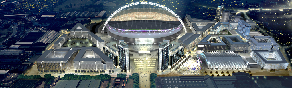 Wembley stadium concept HDR